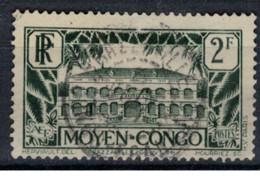 CONGO     N°  YVERT  130    OBLITERE       ( Ob   2 / 50 ) - Oblitérés