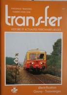 Train Gare Electrification GOUVY TROIS VIERGES Trois Ponts La Gleize Vielsalm Salm Château Clervaux Luxembourg - Railway & Tramway