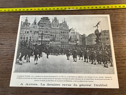 1920 PATI Dernière Revue Du Général Drubbel à Anvers - Zonder Classificatie