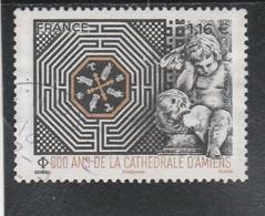 FRANCE 2020 - 800 ANS DE LA CATHEDRALE D AMIENS  OBLITERE YT 5414 - Usati