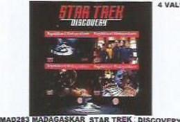 MADAGASCAR - 2020 - Star Trek, Discovery - Perf 4v Sheet  - Mint Never Hinged. - Madagascar (1960-...)