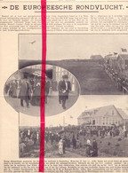 Orig. Knipsel Coupure Tijdschrift Magazine - Soesterberg - Luchtvaart , Europese Rondvlucht - 1911 - Ohne Zuordnung