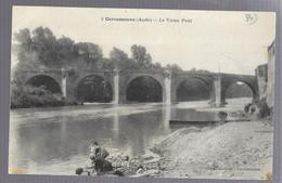 Carcassonne, Le Vieux Pont (lavandières, Laveuses ...) (11428) - Carcassonne