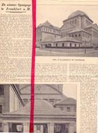 Orig. Knipsel Coupure Tijdschrift Magazine - Frankfort Frankfurt - Nieuwe Synagoge - 1911 - Non Classificati