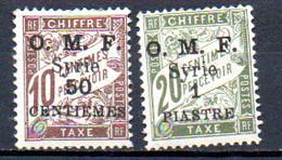 Syrie Taxe 9 /10 * - Timbres-taxe