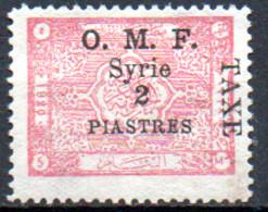 Syrie Taxe 15 * - Timbres-taxe
