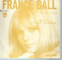 """45 Tours SP -  FRANCE GALL - PHILIPS 373824 -   """" LES SUCETTES """" + 1  ( POCHETTE VIDE - SEULE ) - Sonstige - Franz. Chansons"""