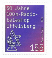2021   Deutschland Germany Mi. 3622  **MNH 50 Jahre Radioteleskop Effelsberg. - Ungebraucht