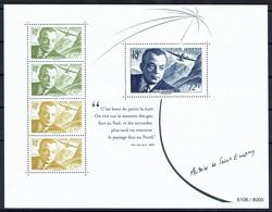 Bloc-feuillet Antoine De Saint-Exupéry - Biennale Philatélique 2021 - 1960-.... Neufs