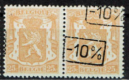 724 H  Paire T1 *  T 2 **  Sans Et Avec 2 Surcharges - 1946 -10%