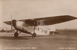 CPA - Focke Wulf A 17 Möwe - Compagnie Deutsche Luft Hansa - 1919-1938: Entre Guerres