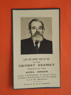 Ernest Desmet - Joseph Geboren Te Bovekerke 1870 Overleden Te Kortemark 1950  (2scans) - Religione & Esoterismo
