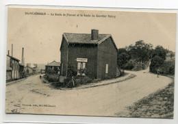 """51 STE SAINTE MENEHOULD Carte RARE Carrefour  Route Florent Et Route Quartier Valmy """"     D01 2019 - Sainte-Menehould"""