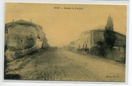 34 MEZE  Maisons Du Hameau De Vinaigre Villageois Route Bel Aspect Glacé Toilé  Edit B.D  1910    D02 2019 - Mèze