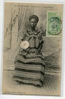 COTE D'IVOIRE Carte RARE Femme MOSSOU éventail Collection Arkhust Photographe No 24    D01 2020 - Elfenbeinküste
