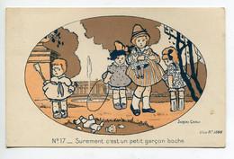 MILITARIA  Enfants Patriotisme Surement C'est Un Petit Garcon Boche Jacques CARLU Illustrateur No 17  -    D02 2020 - War 1914-18