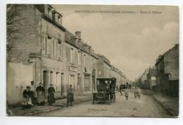 14 BRETEVILLE L'ORGUEILLEUSE Automobile Route De Bayeux Jolie Animation CARTE MOLLE    D02 2020 - Otros Municipios