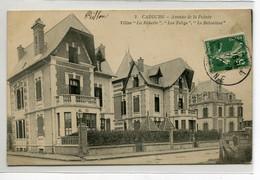14 CABOURG Avenue De La Pointe 3 Jolies Villas Nommées  La Robette Les Tobys Le Belvedere  écrite Timbrée   D02 2020 - Cabourg