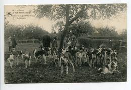 50 CERISY La SALLE Chasse En Foret La Meute De Chiens Scènes De La Vie Normande  1909 écrite Timbrée     D02 2020 - Sonstige Gemeinden
