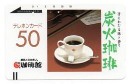 Sucre Sugar Café  Alimentation Téléphone Télécarte Japon  Phonecard Telefonkarte (salon 121) - Alimentazioni