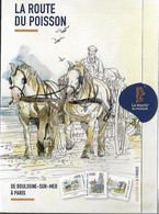 """France 2021 - Collector """"Route Du Poisson"""" (la Course événement Du Cheval De Trait) ** Sous Blister - Ongebruikt"""