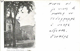 Poste Et Rue Jules Carnot Alais Pionnière RV - Alès