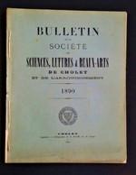 CHOLET 1890 Bulletin De La Société Des Sciences Lettres Et Beaux Arts. Notamment Poète Choletais Amable De La Tremblaye - Riviste - Ante 1900