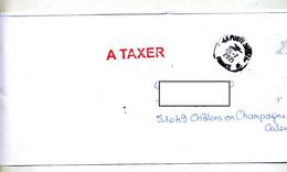 Lettre Cachet La Poste + à Taxer Nachgebühr - Bolli Manuali