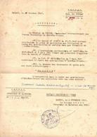 GUERRE INDOCHINE / VIETNAM . DECISION INTEGRATION DS SPECIALISTES EXTREME ORIENT. 1947 - Documentos