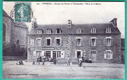 365 - YFFINIAC - BUREAU DE POSTES ET TELEGRAPHES - PLACE DE LA MAIRIE - Altri Comuni