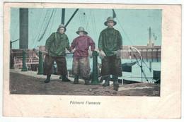Blankenberge - Pêcheurs Flamands - VED - Colorisée - Blankenberge