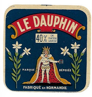 ETIQU. CARRE LE DAUPHIN NORMANDIE - Cheese