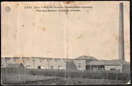 2392 . Diest  - Fabriek Simonis Antwerpschen Steenweg   Fabrique Simonis Chaussée D'Anvers - Diest