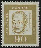 360 Bedeutende Deutsche 90 Pf ** Oppenheimer - Ohne Zuordnung