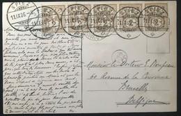Suisse 1906 De Spiez Vers Bruxelles (Belgique) (1021) - Covers & Documents