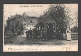 Bornem / Bornhem - Buitenland Oudt-Antwerpen - De Markt - Uitg. D. Hendrix - Geanimeerd - Bornem