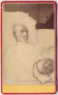 CDV - Portrait D'homme Post Mortem Par Brion à Toul. (ca 1880) - Antiche (ante 1900)