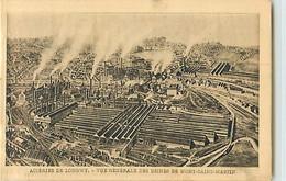 11319 - LONGWY - ACIERIES DE / VUE GENERALE DES USINES DE MONT SAINT MARTIN - Longwy