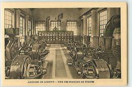 11332 - LONGWY - ACIERIES DE / UNE DES STATIONS DE POMPES - Longwy