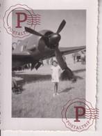 10*7CM AVION FOTO - Luchtvaart