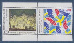 France Suède Paris-Stockholm De Carnet N°2870 2871 Neufs Composition De René Dessirier Et N. Lafrensen Le Jeune - Ungebraucht
