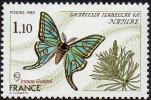 France N° 2089 ** Nature - Insecte - Papillon Le Graellsia Isabellae - Nuovi