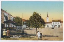 RO 29 - 14341 REGHIN, Mures, Romania, Market - Old Postcard - Used - 1915 - Roemenië
