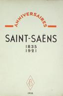 "SAINT SAENS Charles ""ANNIVERSAIRES-Emile VUILLERMOZ - 1850 - 1899"