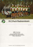 CARTE CYCLISME GROUPE TEAM PUCH SUISSE 1984 - Ciclismo