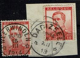 118  Sans Bdl  X 2 Obl Relais  Neerwinden Et Dadzeele  + 16 - 1912 Pellens