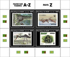 NIGER 2021 - Chimpanzee, WWF On Stamps Z, Official Issue [NIG210244a] - Chimpanzees