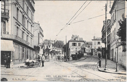 Cpa LE HAVRE - Rue Guilmart (animée). - Peu Courante. - Unclassified