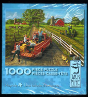 """Puzzle """"Une Balade D'automne"""" Beau! 1000 Pièces 67,43cm Sur 48,9cm Ed. Jack Pine Neuf * - Non Classificati"""