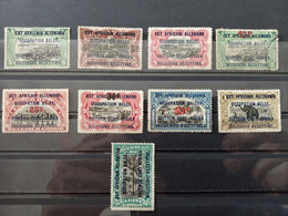 Bélgica. Ocupación Belga En África. Duitch Oost Afrika. Nuevos */** - 1894-1923 Mols: Nuevos